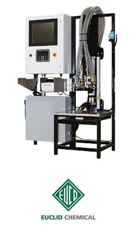 Color Matic Machine And Euclid Chemical Logo