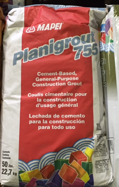 Mapei Panigrout 755