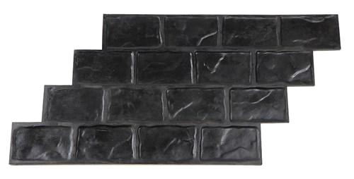 Running Bond Used Brick Concrete Stamp